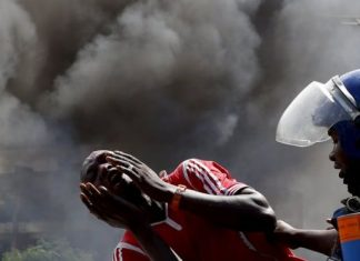 Burundi saw violent unrest after President Nkurunziza announced he would pursue a third term
