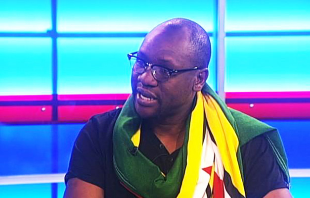 Pastor Evan Mawarire during a TV interview