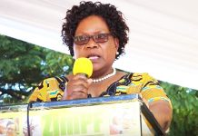 Former Vice President and now opposition Zimbabwe People First president Joice Mujuru