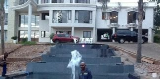 Obscene Wealth - Saviour Kasukuwere's mansion in Harare almost complete