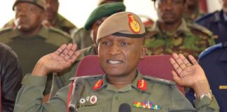 Lesotho's army commander Lieutenant-General Tlali Kamoli