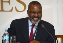 Dr Nkosana Moyo was Minister for Industry and International Trade in Zimbabwe under President Mugabe