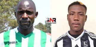 Leonard Tsipa and Peter Muduhwa