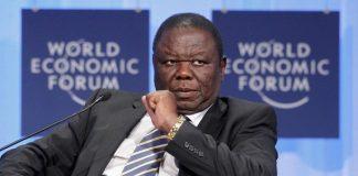 File picture of Morgan Tsvangirai at the World Economic Forum