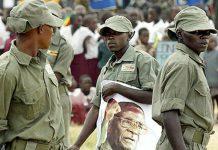 File picture of Zanu PF youth militia
