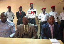 Chalton Hwende, Nelson Chamisa and Douglas Mwonzora