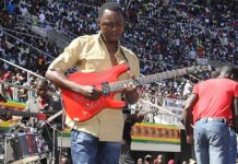Alick Macheso performing at a State function