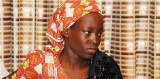 Amina Ali Nkeki said she was not sure if she wanted to go back to school