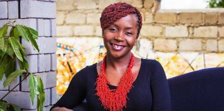 Anne Kansiime collapses back stage