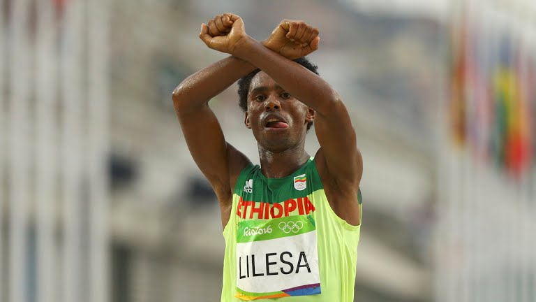 The Ethiopian Olympian seeking asylum in the US