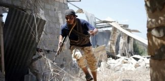 Fighters allied with the UN-backed government have been battling IS in Sirte