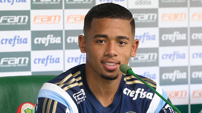 Gabriel jesus man city sign brazilian winger from for Gabriel jesus squadre attuali