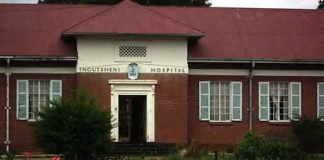 Ingutsheni Central Hospital in Bulawayo