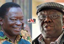 Victor Matemadanda and Morgan Tsvangirai