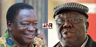 Victor Matemadanda and Morgan Tsvangirai
