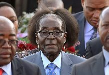 Robert Mugabe has frequently been mocked online social media for several unfortunate photo timings