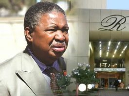 Vice President Phelekezela Mphoko has left Rainbow Towers Hotel which has been his home since December 2014 when he was appointed to the presidium.