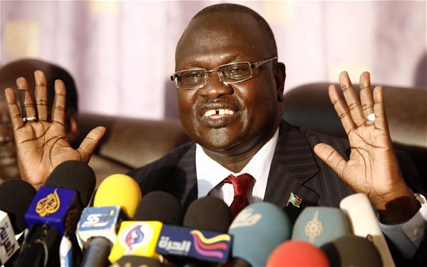 South Sudan S Sacked Vp Goes Into Exile Nehanda Radio