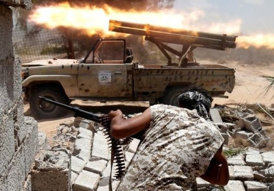 Government forces say they have made gains in Sirte