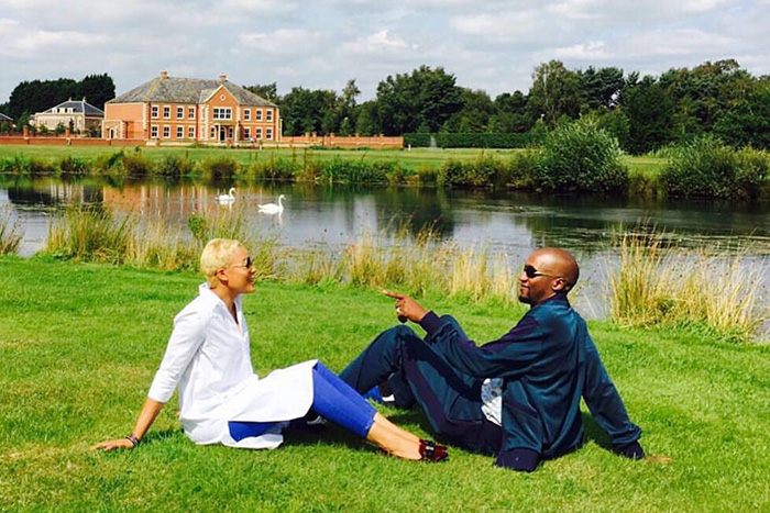 Uebert Angel shares loving moment with wife Beverly in ...  Uebert Angel sh...