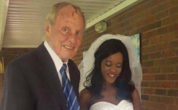 Dave Emberton and wife Melody Kumora
