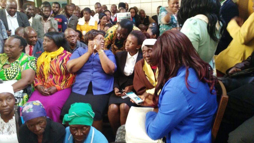 joice Mujuru at Mahiya hearing