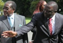 President Robert Mugabe and Morgan Tsvangirai (Photo/Tsvangirayi Mukwazhi)