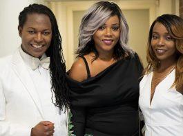 Zimbabwe Fashion Showcase run by Chiedza Dawn Ziyambe (centre)