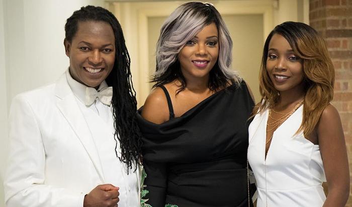 Chiedza Dawn Ziyambe (centre) also runs the Zimbabwe Fashion Showcase
