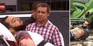New York bombing suspect Ahmad Khan Rahami held