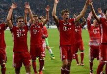 Bayern Munich have won the Bundesliga in four straight seasons and last won the Champions League in 2013