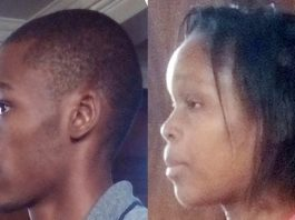 Azellia Madzorera (24) an accountant at Savanna Tobacco and her husband Craig Shamu (27)