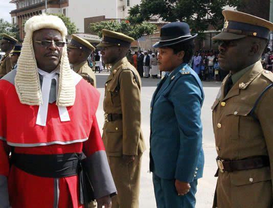 Judge president George Chiweshe