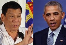 """US President Barack Obama has cancelled a meeting in Laos with Philippine President Rodrigo Duterte, who had earlier called him a """"son of a whore""""."""