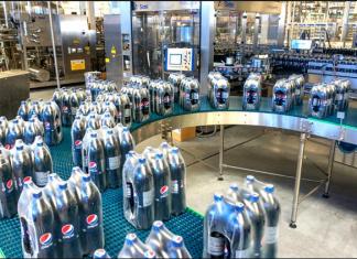 File picture of a Pepsi plant