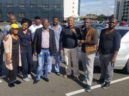 Gospel legend Sipho Makhabane arrives for first ever UK show