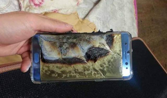 Samsung halts Galaxy Note 7 sales following battery explosions