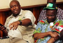Saviour Kasukuwere and Jonathan Moyo