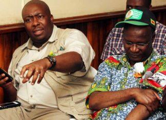 Saviour Kasukuwere and Jonathan Moyo