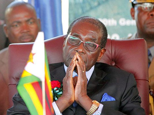 President Robert Mugabe (Picture by AFP)