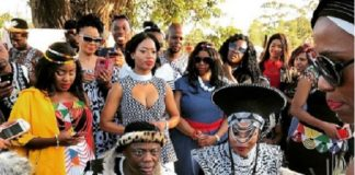 DJ Tira embraces roots with traditional wedding