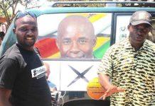 Patson Dzamara and Temba Mliswa
