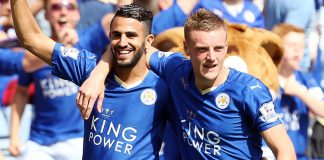 Leicester City's Jamie Vardy and Riyad Mahrez have been named on the 2016 Ballon d'Or award shortlist for the world's best player.