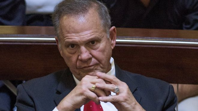 Anti-gay Alabama Chief Justice Roy Moore suspended for rest of term