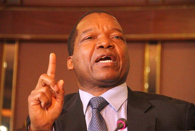 Reserve Bank of Zimbabwe governor Jonathan Moyo