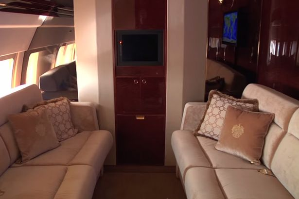Inside Donald Trump39s Plane With Marble Bathroom And Cinema  Pictures An