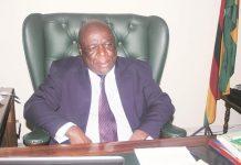 Clerk of Parliament Mr Kennedy Chokuda