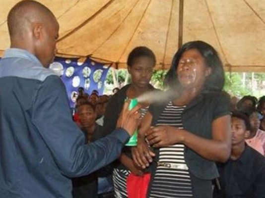 Lethebo Rabalago claims insecticide Doom can heal people with cancer and HIV