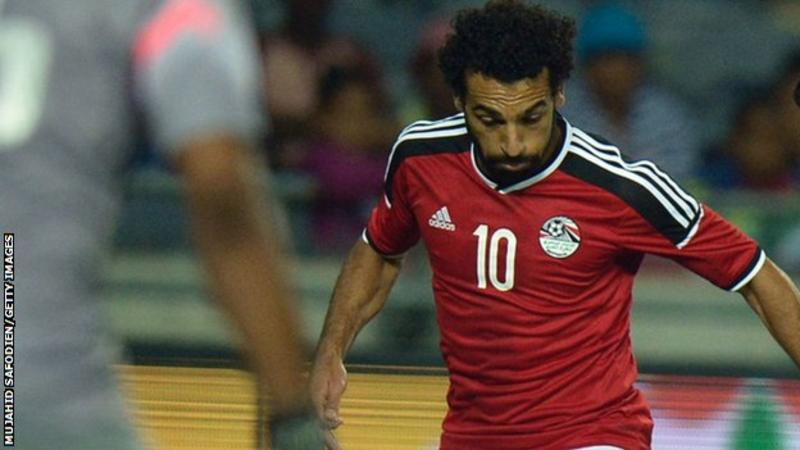 Goals from Mohamed Salah and Abdallah Saied gave the Pharaohs the ...