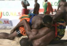Wrestling in The Gambia and Senegal is very popular, often attracting huge crowds